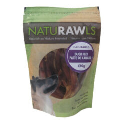 NatuRAWls Duck Feet Dog Treats