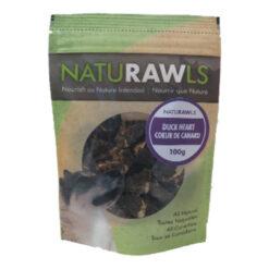 NatuRAWls Duck Hearts Dog Treats