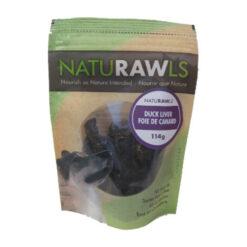 NatuRAWls Duck Liver Dog Treats