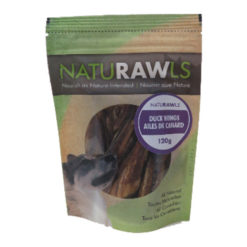 NatuRAWls Duck Wings Dog Treats