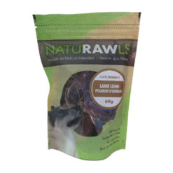 NatuRAWls Lamb Lung Dog Treats