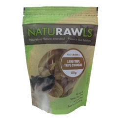 NatuRAWls Lamb Tripe Dog Treats