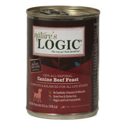 Nature's Logic Canine Beef Feast Canned Dog Food