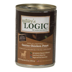 Nature's Logic Canine Chicken Feast Canned Dog Food