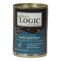 Nature's Logic Canine Lamb Feast Canned Dog Food