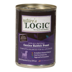Nature's Logic Rabbit Feast Canned Dog Food