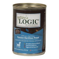 Nature's Logic Sardine Feast Canned Dog Food