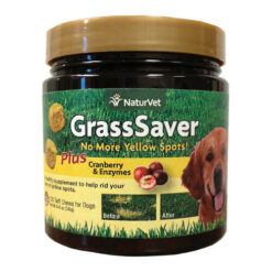 NaturVet GrassSaver with Cranberry & Enzymes Dog Soft Chews