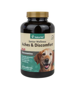 NaturVet Senior Care Aches & Discomfort Dog Tablets
