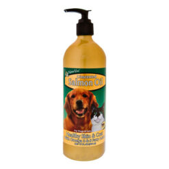 NaturVet Unscented Salmon Oil for Dogs & Cats