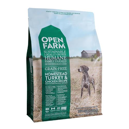 Open Farm Grain-Free Homestead Turkey & Chicken Dry Dog Food