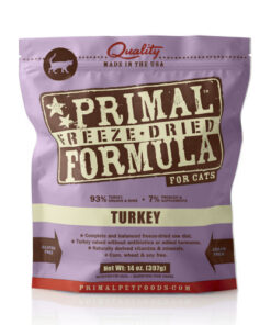 Primal Turkey Formula Freeze-Dried Cat Food