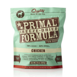 Primal Chicken Formula Freeze-Dried Dog Food