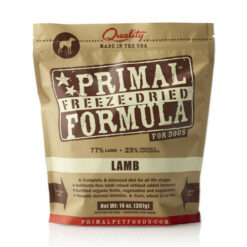Primal Lamb Formula Freeze-Dried Dog Food