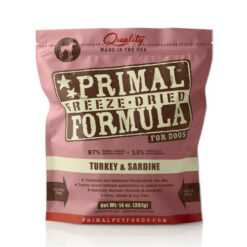 Primal Turkey & Sardine Formula Freeze-Dried Dog Food