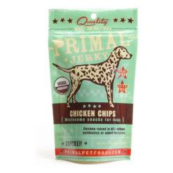 Primal Jerky Chicken Chips Dog Treats