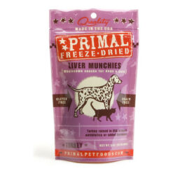 Primal Turkey Liver Munchies Freeze-Dried Dog & Cat Treats
