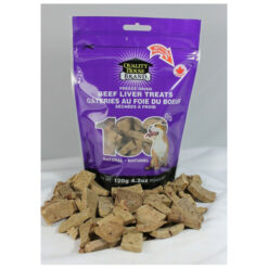 Quality House Brand Freeze-dried Beef Liver Dog treats
