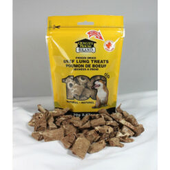 Quality House Brand Freeze-dried Beef Lung Dog treats
