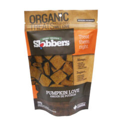 Slobbers Organic Pumpkin Love Dog Treats