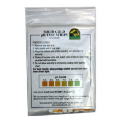 Solid Gold PH Test Strips