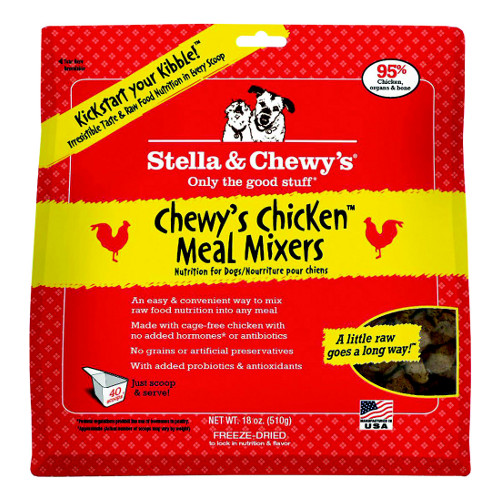 Stella & Chewy's Chewy's Chicken Meal Mixers Freeze-Dried Dog Food Topper