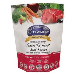 Stewart® Raw Naturals™ Freeze Dried Beef Recipe Dog Food