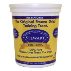 Stewart Pro-Treat Chicken Liver Freeze-Dried Dog Treats