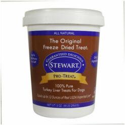 Stewart Pro-Treat Turkey Liver Freeze-Dried Dog Treats