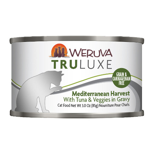 Weruva Truluxe Mediterranean Harvest with Tuna & Veggies in Gravy Canned Cat Food