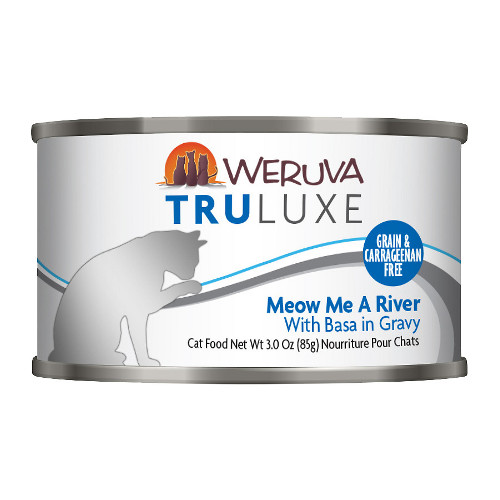 Weruva Truluxe Meow Me A River with Basa in Gravy Canned Cat Food