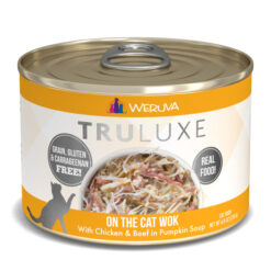 Weruva Truluxe On The Cat Wok with Chicken & Beef in Pumpkin Soup Canned Cat Food
