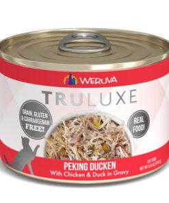 Weruva Truluxe Peking Ducken with Chicken & Duck in Gravy Canned Cat Food