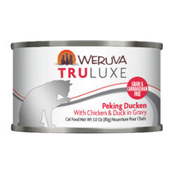 Weruva Truluxe Peking Ducken with Chicken & Duck in Gravy Canned Cat Food