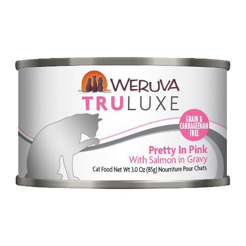 Weruva Truluxe Pretty In Pink with Salmon in Gravy Canned Cat Food