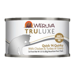 Weruva Truluxe Quick 'N Quirky with Chicken & Turkey in Gravy Canned Cat Food