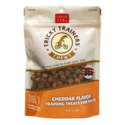 Cloud Star Chewy Tricky Trainers Cheddar Flavor Dog Treats