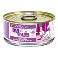 Weruva Cats in the Kitchen La Isla Bonita Mackerel & Shrimp Au Jus Canned Cat Food