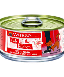 Weruva Cats in the Kitchen Two Tu Tango Sardine, Tuna & Turkey Au Jus Canned Cat Food