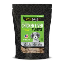 Etta Says! Chicken Liver Yumms Freeze-Dried Dog Treats