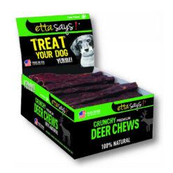 Etta Says! Crunchy Deer Chews Dog Treats