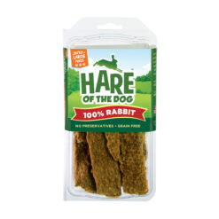Hare of the Dog 100% Rabbit Jerky for Large Breed Treats