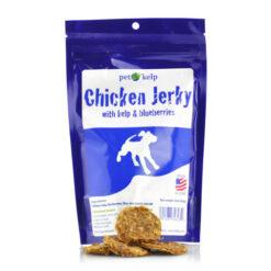 Pet Kelp Chicken Jerky with Kelp and Blueberries