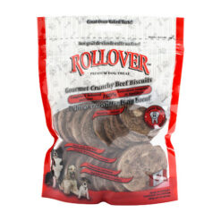 Rollover Gourmet Beef Crunchy Dog Biscuits