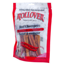 Rollover Beef Chompers 10 Pk Dog Treat