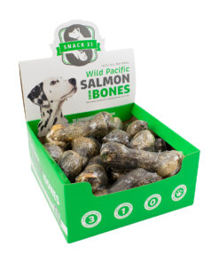 Snack 21 Salmon Skin Rolls Dog Chews