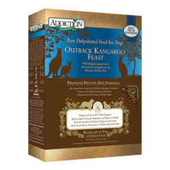 Addiction Grain-Free Outback Kangaroo Feast Raw Dehydrated Dog Food