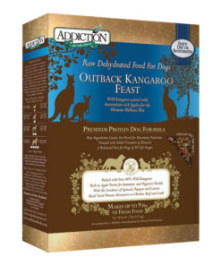 Addiction Grain-Free Outback Kangaroo Feast Raw Dehydrated Dog Food