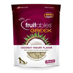 Fruitables Greek Coconut Yogurt Crunchy Dog Treats