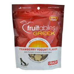 Fruitables Greek Strawberry Yogurt Dog Treats